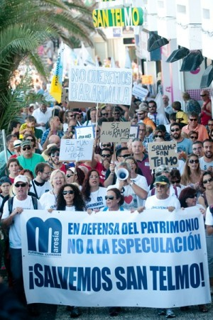 Manifestación San Telmo