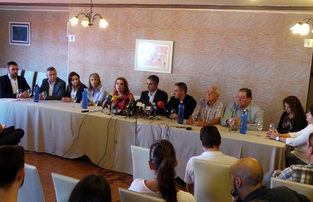 MOCION CENSURA Tacoronte rueda de prensa