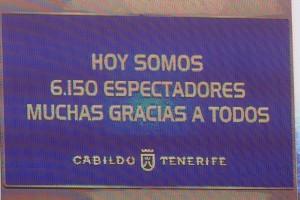 Esta campaña se está produciendo una merma en la asistencia a los encuentros como local del Tenerife. | S. M.