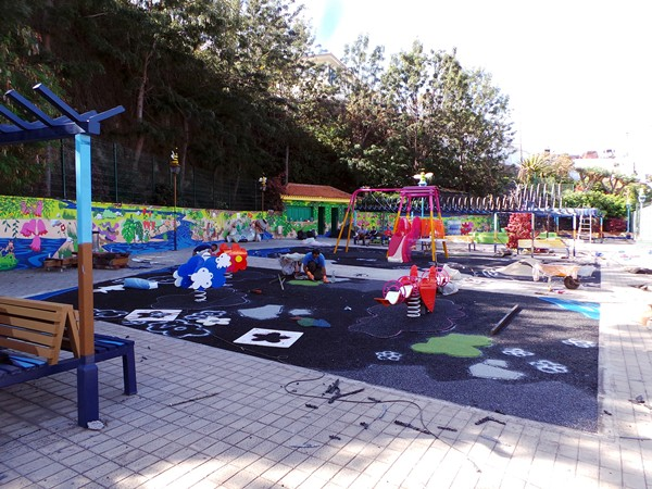 El moderno parque para niños prevé abrir sus puertas en pocos días. | MOISÉS PÉREZ