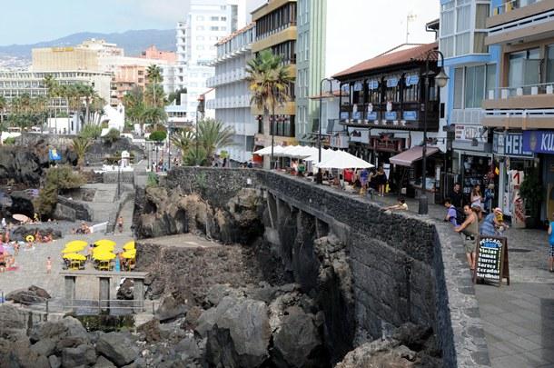 muro Paseo de San Telmo de Puerto de la Cruz