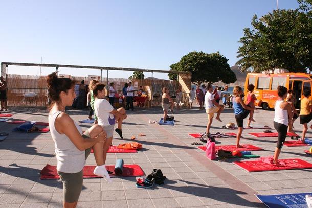 yoga El Medano Granadilla te cuida