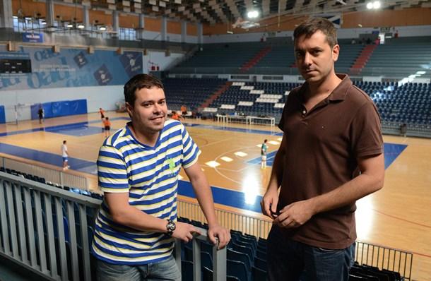 Andres Pedreira Uruguay FS y Carlos Lopez Gomera FS