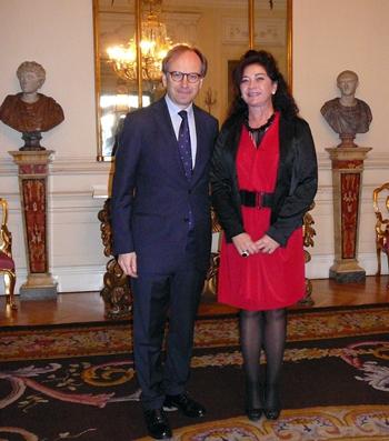 Beatriz Barrera y Marco Riccardo Rusconi