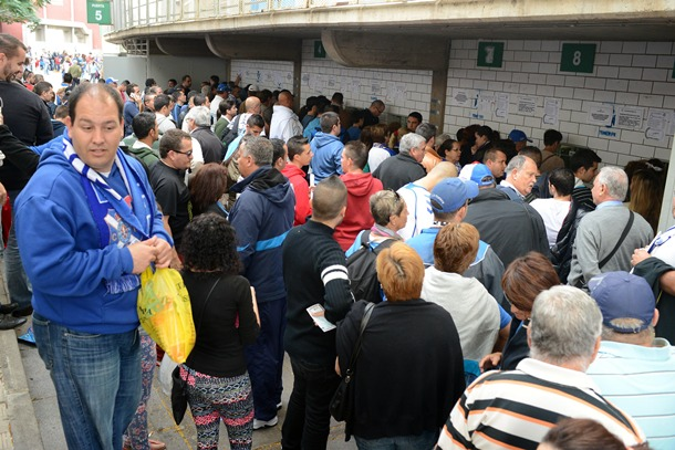 CD Tenerife colas entradas derbi UD Las Palmas