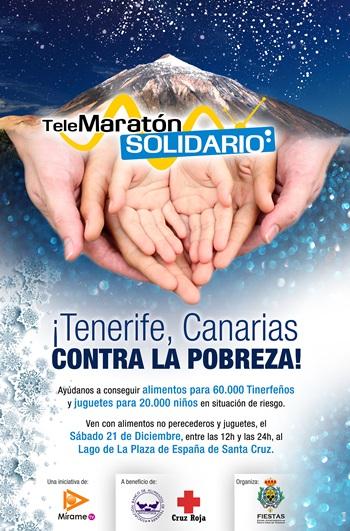 Cartel Telemaraton solidario