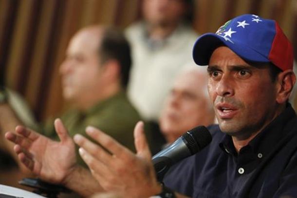 Mesa de Unidad Democrática (MUD), Henrique Capriles.