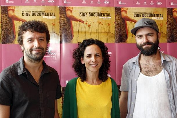 José Cabrera, Virginia Manchado y David Pantaleón