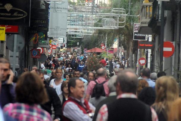 Calle Castillo Navidades comercio