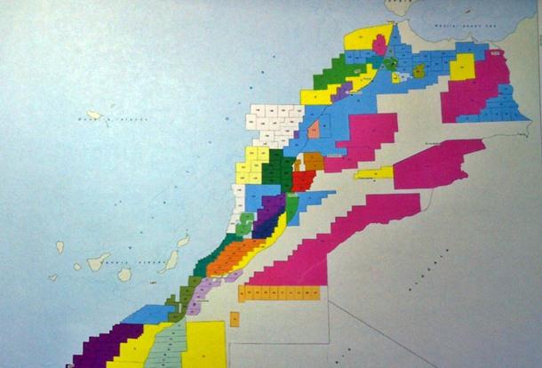 Marruecos sondeos petróleo