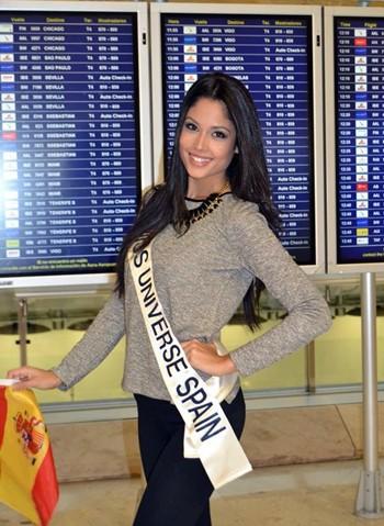 Patricia Yurena Rodríguez candidata Miss Universo