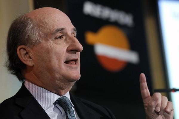 Antonio Brufau, presidente de Repsol, niega que haya connivencia del ministro Soria con su empresa. / DA
