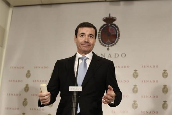 Tomás Gómez ha dejado su escaño en el Senado