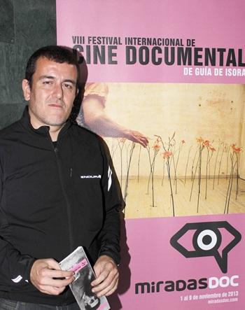 Xapo Ortega, en MiradasDoc
