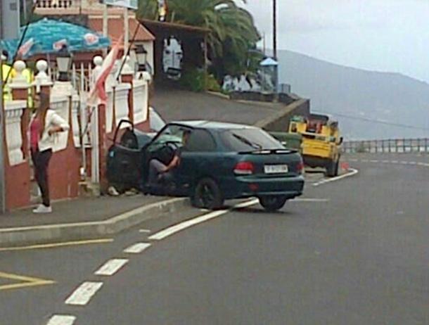 accidente La Orotava