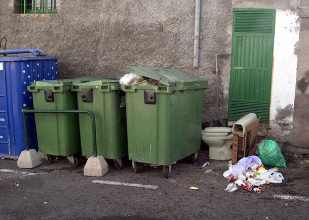 contenedores basura Puerto de la Cruz