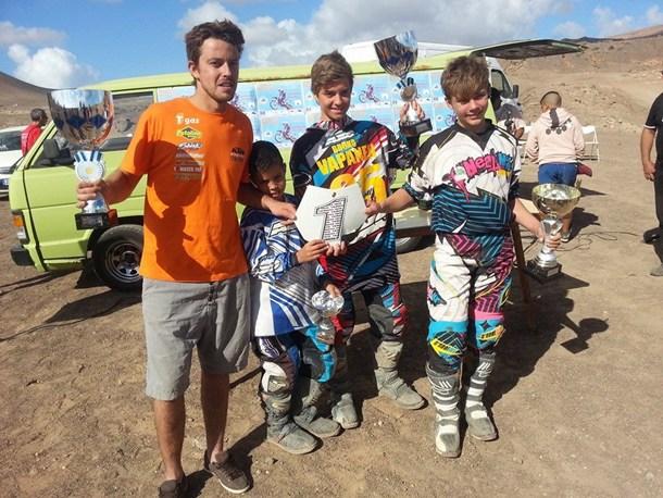 Campeones de Canarias de Motocross 2013
