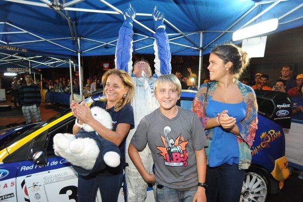 'Copi' Capdevila tras ganar el 39º Rally de Tenerife. | DA