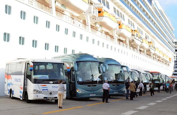 Turismo cruceros turistas cruceristas