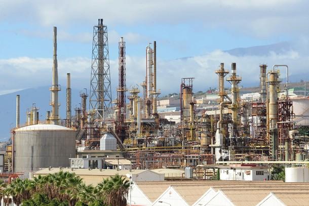 refineria cepsa Santa Cruz