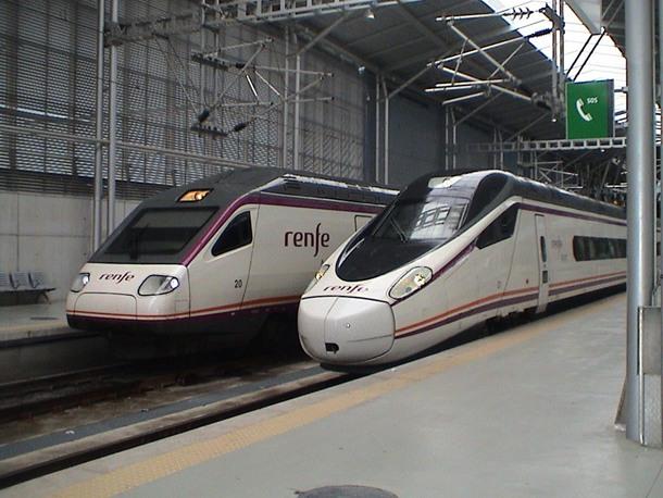 trenes tren del Sur