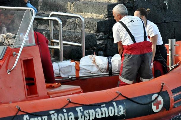 cadáver turista ahogado playa del Pozo La Orotava