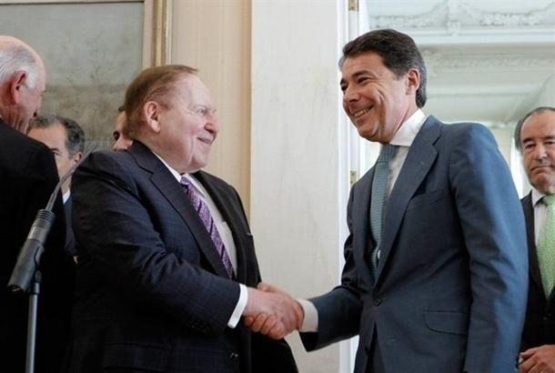 Adelson Eurovegas Ignacio Gonzalez