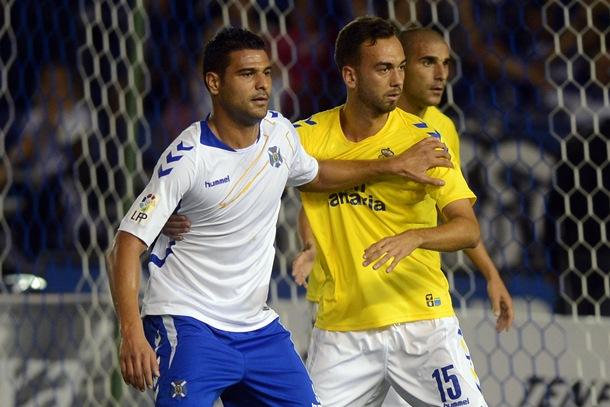 Aridane Santana y Deivid CD Tenerife UD Las Palmas