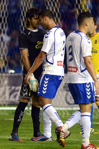 Aridane y Barbosa CD Tenerife-UD Las Palmas