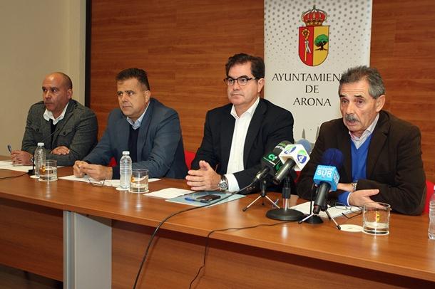 Francisco José Niño, Antonio Sosa, Manuel Reverón, Ramón García