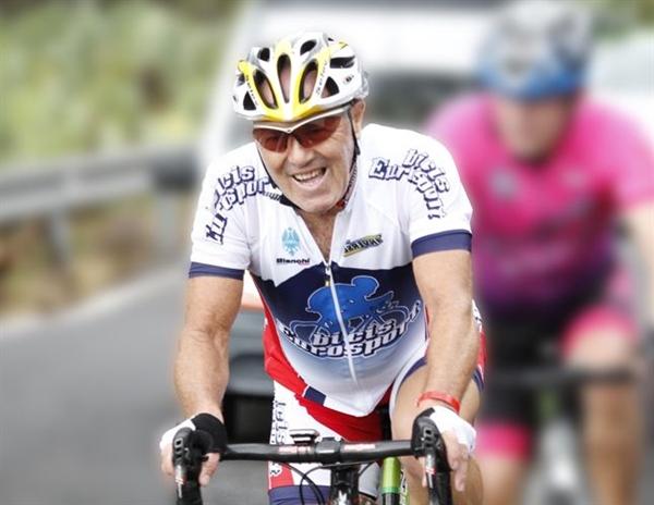 Arsenio Sánchez, ciclista muerto
