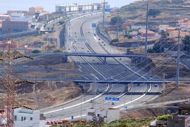 Autopista del Sur TF-1 Santa Maria del Mar
