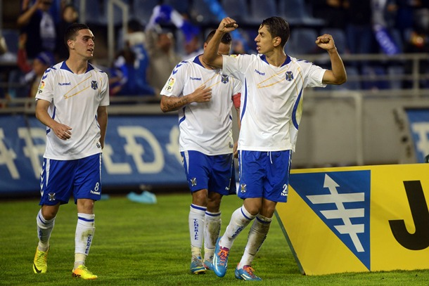 Ayoze Pérez derbi CD Tenerife-UD Las Palmas