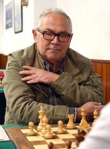 Gram Maestro bosnio Bojan Kurajica.