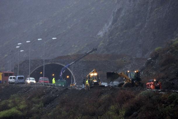 túnel de Los Roquillos