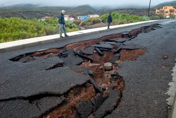 Alpidio Armas carretera de La Caleta