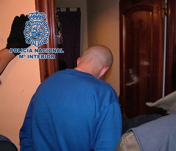 Canario detenido en Asturias