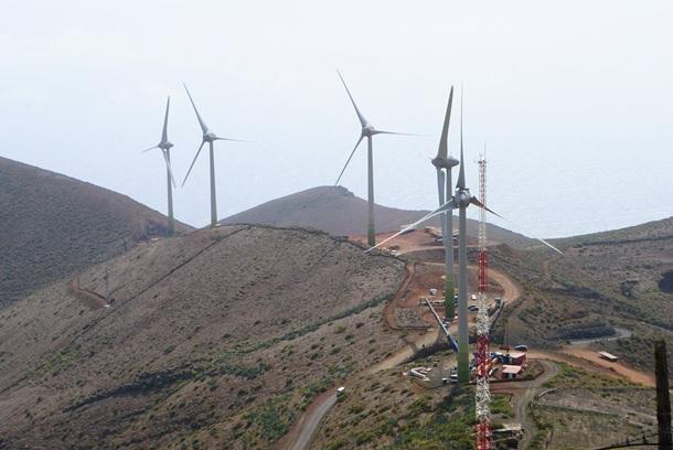 Central Hidroeólica de El Hierro