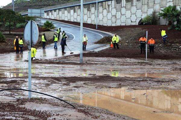 Inundaciones del Sur. / G. ZENOU