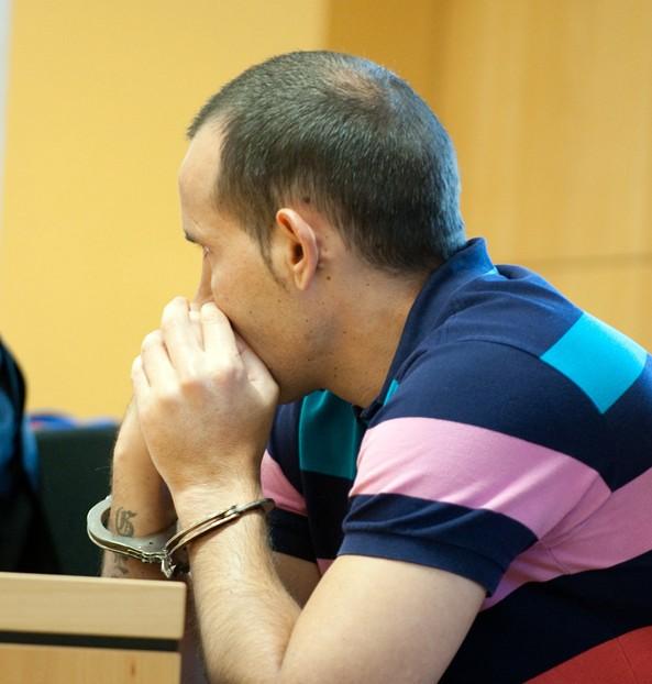 El ahora condenado, durante la vista oral. / FRAN PALLERO