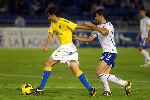 Juan Carlos Valeron derbi CD Tenerife UD Las Palmas
