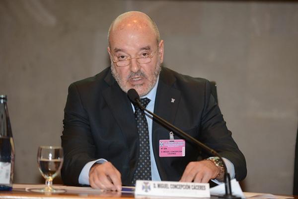Miguel Concepción, presidente CD Tenerife . / SERGIO MÉNDEZ.