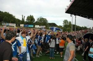 En Montilivi logró el Tenerife el cuarto ascenso a Primera División de su historia.   DA