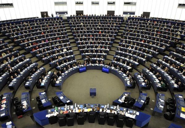 Imagen de una sesión parlamentaria de la Eurocámara. / DA