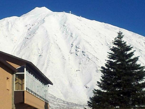Parador del Teide nieve Teide