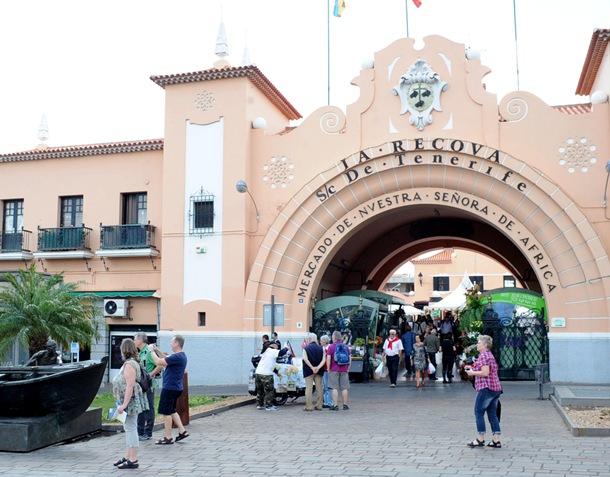 Recova Santa Cruz Mercado Nuestra Señora de África