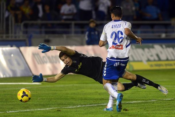 Ayoze Pérez gol derbi CD Tenerife  UD Las Palmas