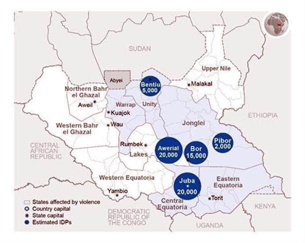 Sudán del Sur Oficina para la Coordinación de Asuntos Humanitarios (OCHA)