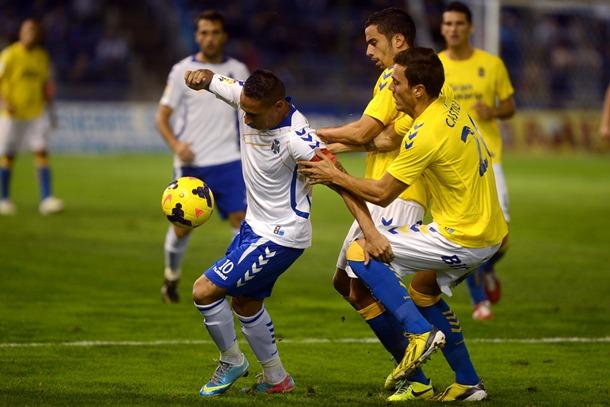 Suso derbi CD Tenerife UD Las Palmas