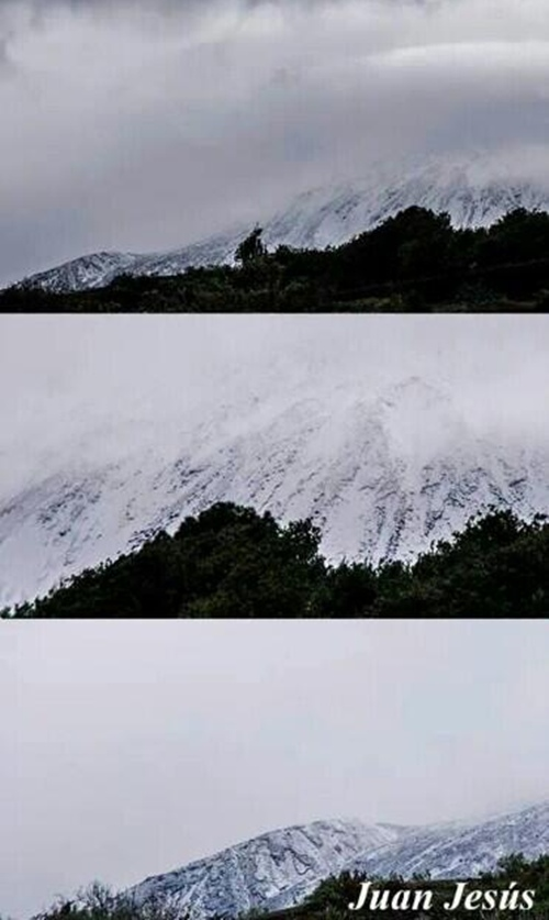 Vista del Teide desde Garachico. | JUAN JESÚS